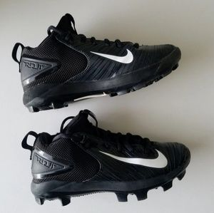 Nike Force Trout Baseball Cleats Size 1Y